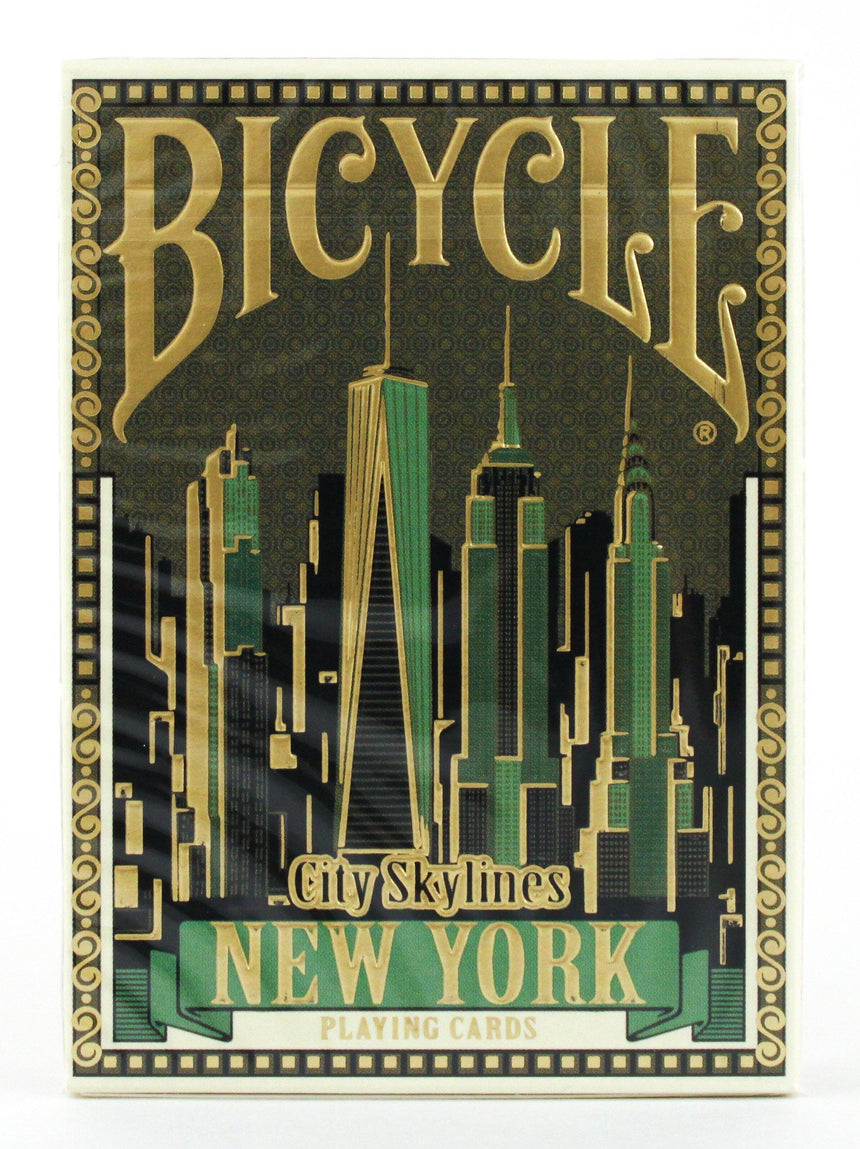 Bicycle City Skylines New York - BAM Playing Cards