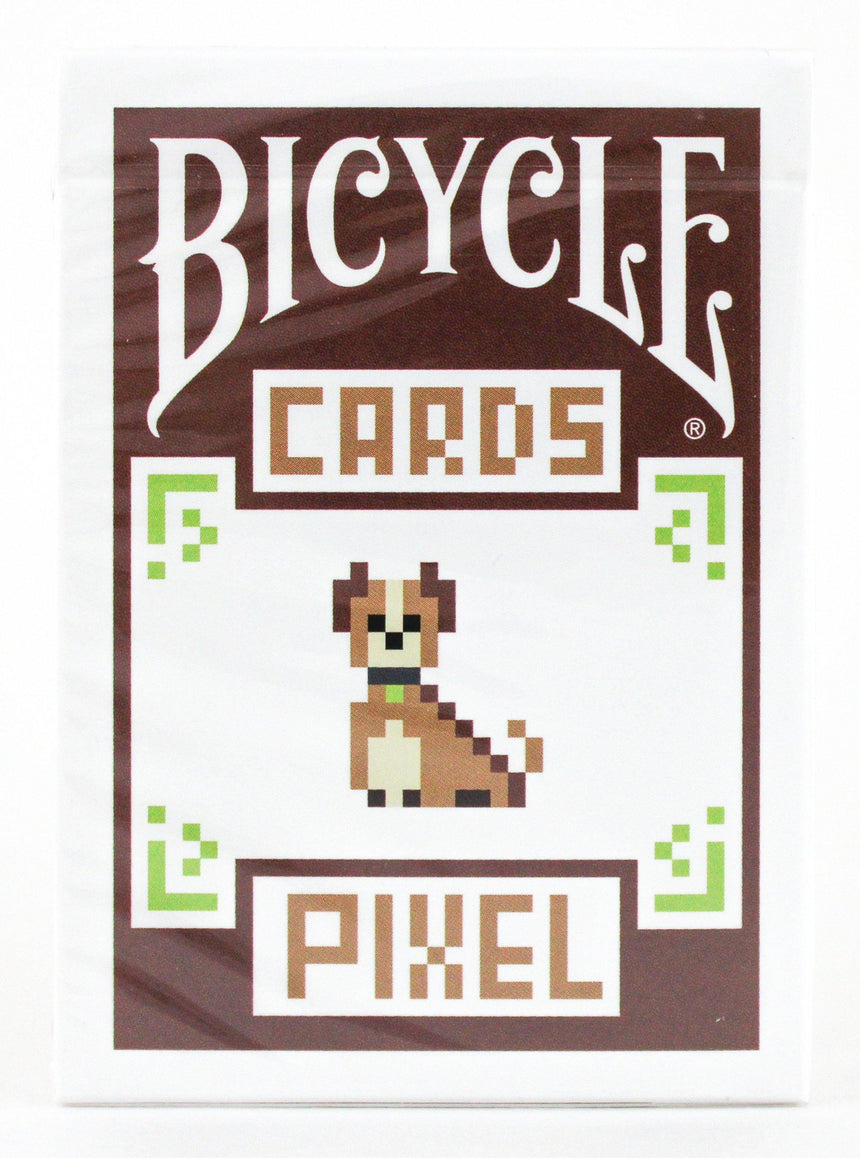 Bicycle Pixel Dog - BAM Playing Cards