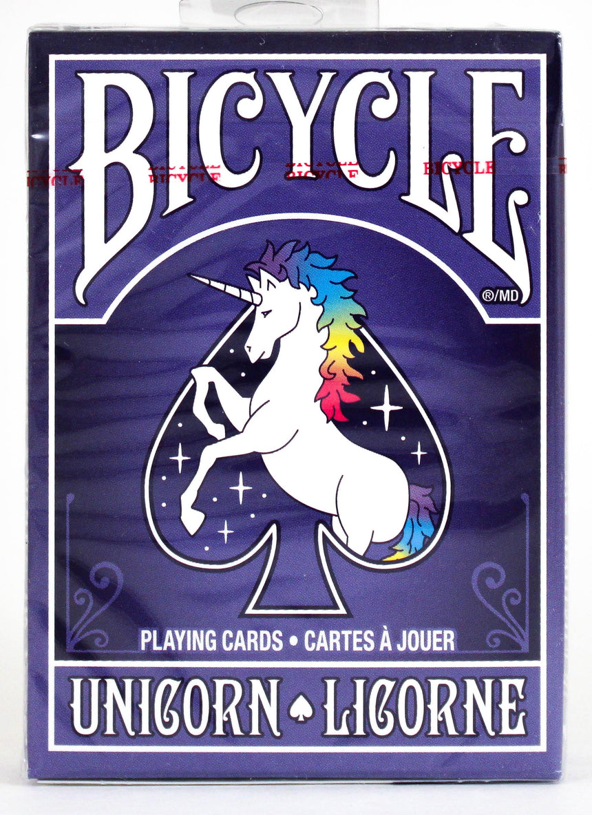 Bicycle Unicorn Purple - BAM Playing Cards