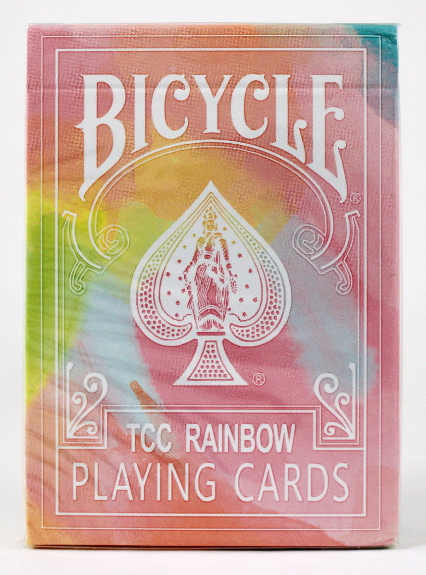 Bicycle Rainbow Peach - BAM Playing Cards