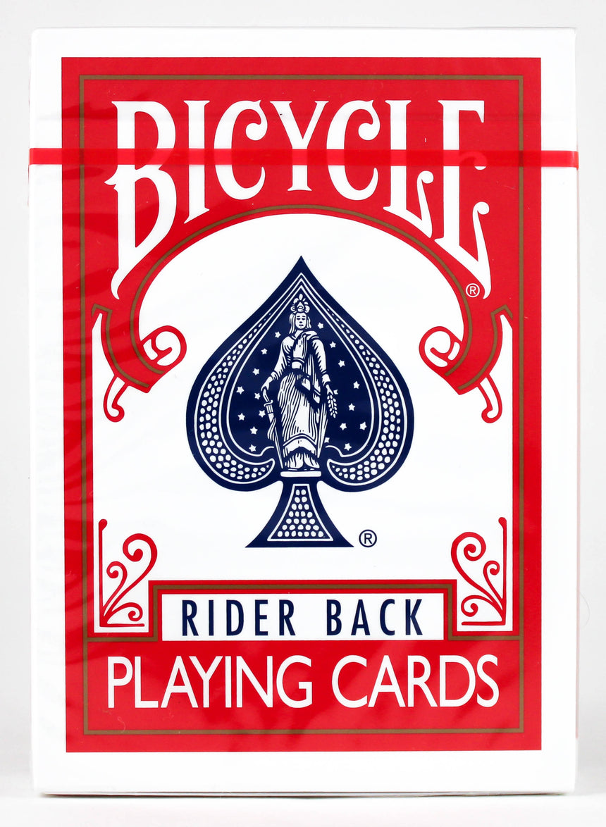 Experts Thin Crushed Rider Back Red - BAM Playing Cards