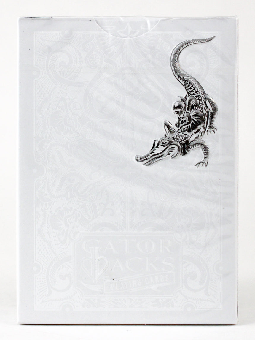 Silver Gatorback - BAM Playing Cards