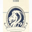 White Lions Series B Blue - BAM Playing Cards