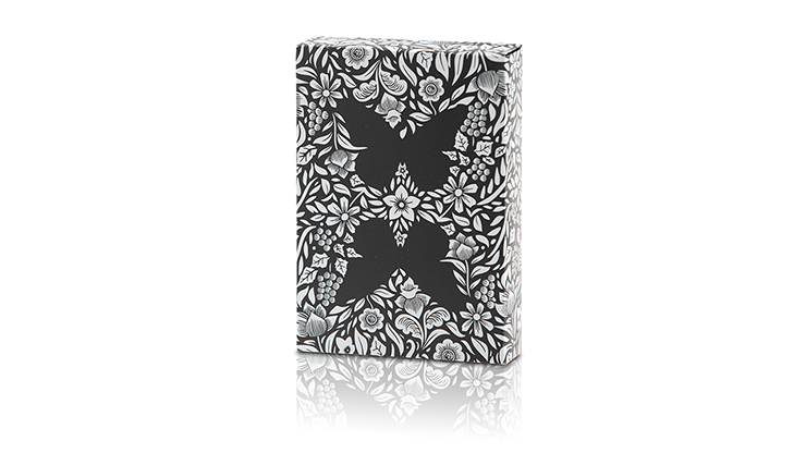 Butterfly - Black & White Marked
