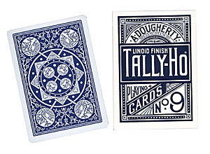 Tally Ho Fan Back Poker size (Blue)