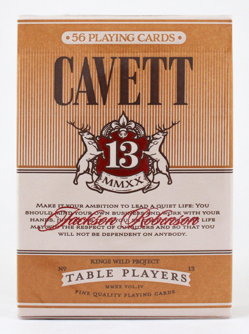No.13 Table Players  Vol.4 (Cavett) - BAM Playing Cards