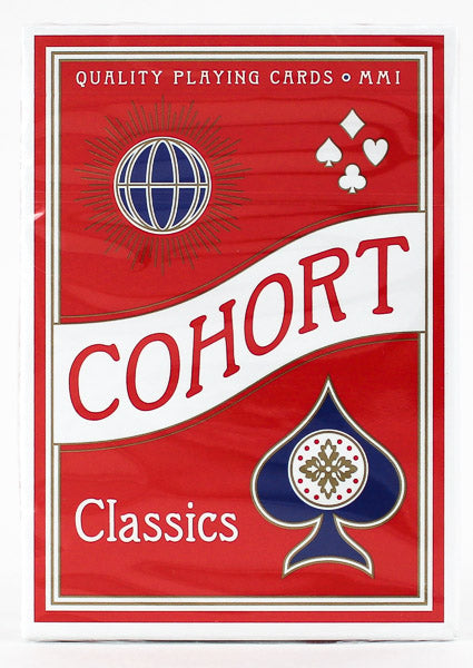 Cohort Red V2 - BAM Playing Cards (6585938935957)