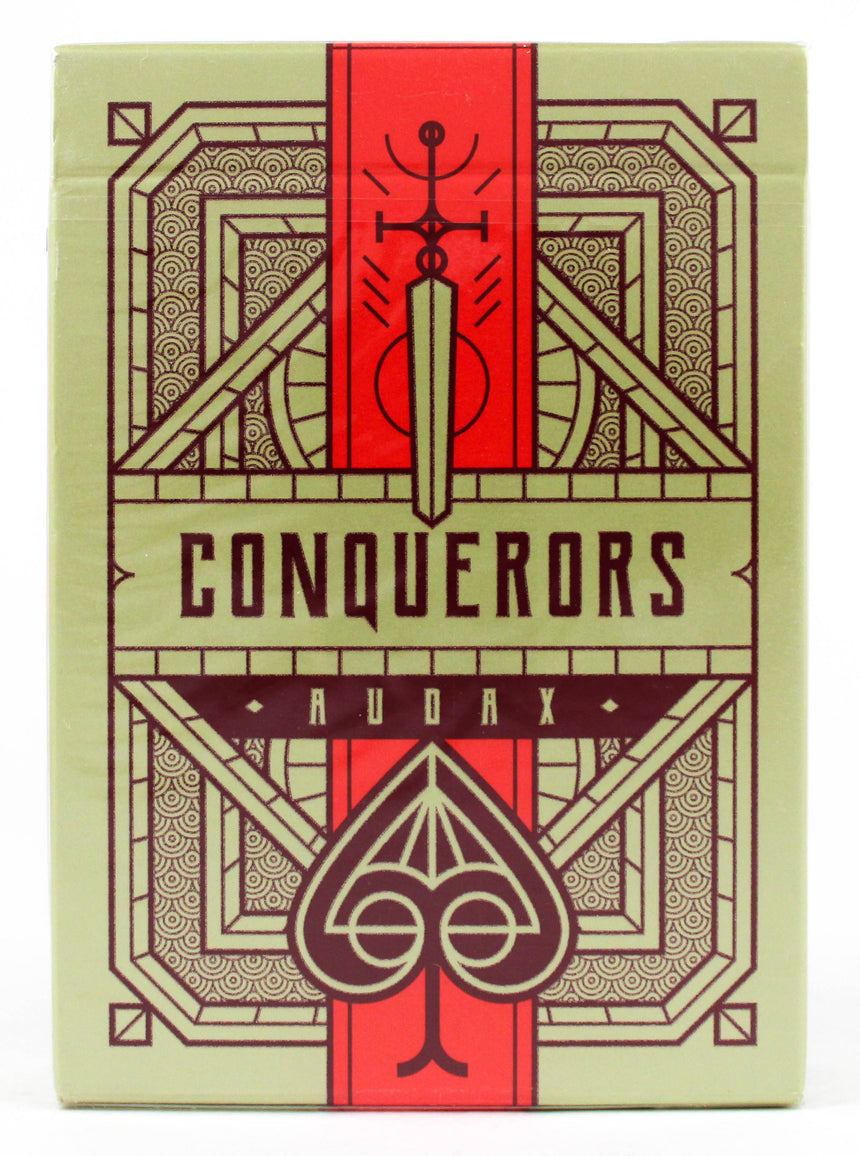Conquerors Audax - BAM Playing Cards (6000256385173)