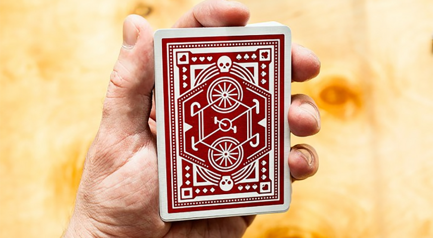 Red DKNG - BAM Playing Cards