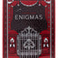 Enigmas Puzzle Hunt Red - BAM Playing Cards (6444826034325)