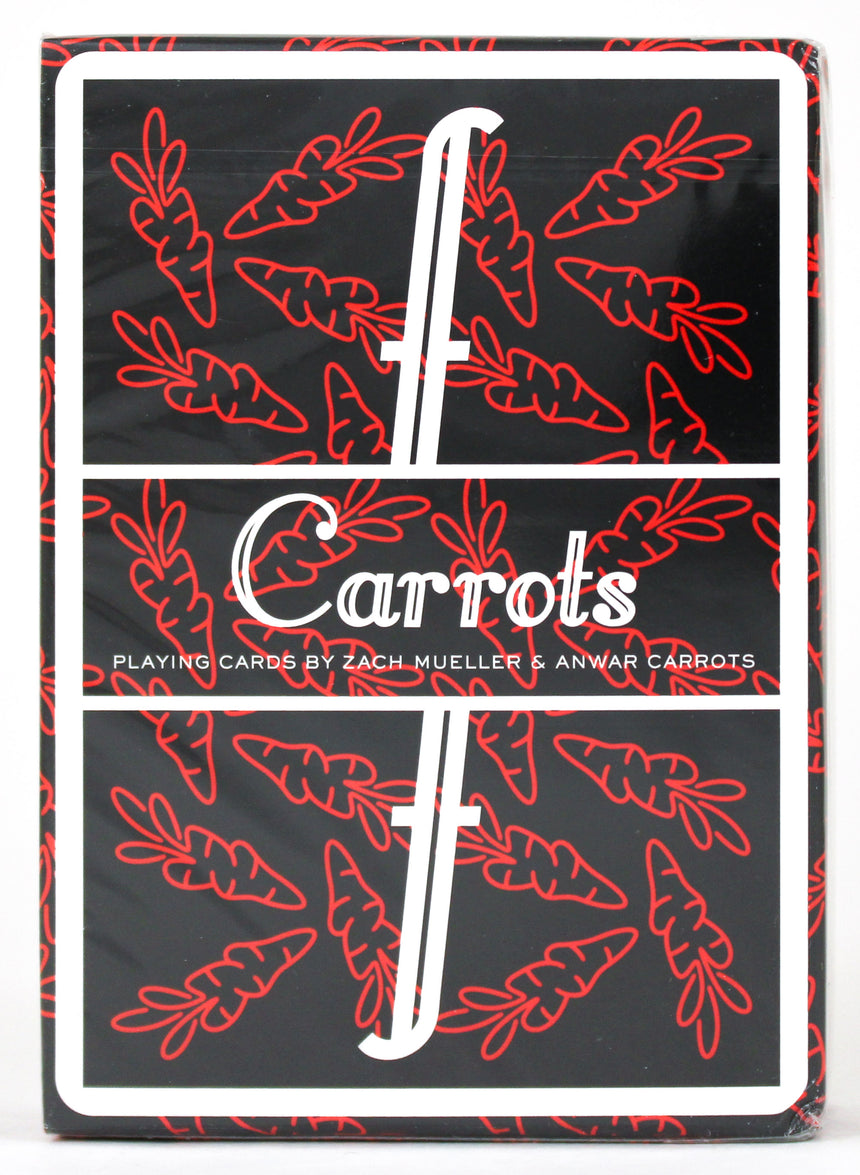 Fontaine Carrots V3 - BAM Playing Cards