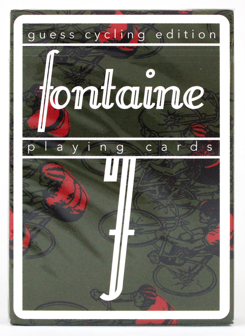Fontaine Guess Cycling - BAM Playing Cards