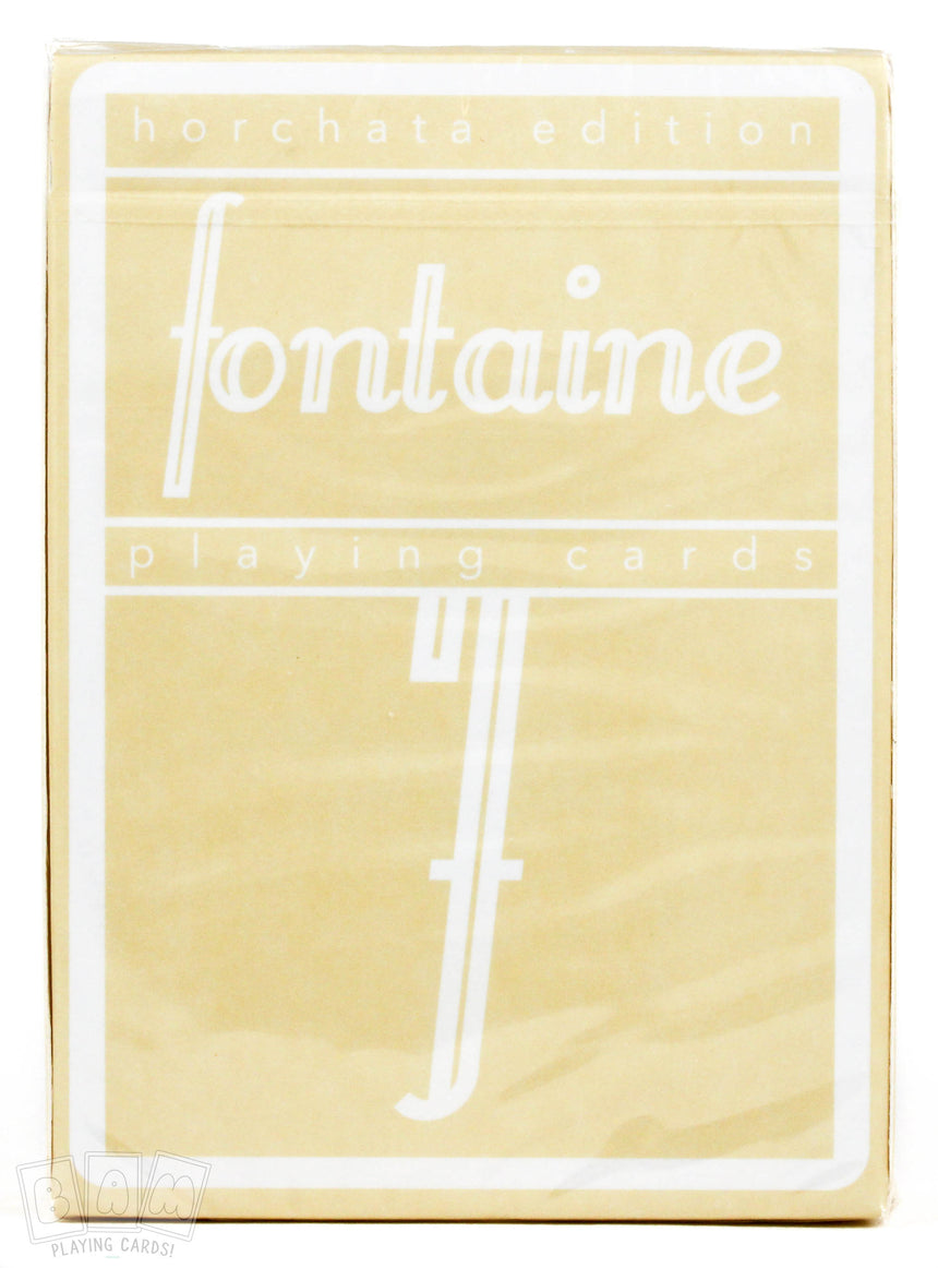 Fontaine Horchata - BAM Playing Cards