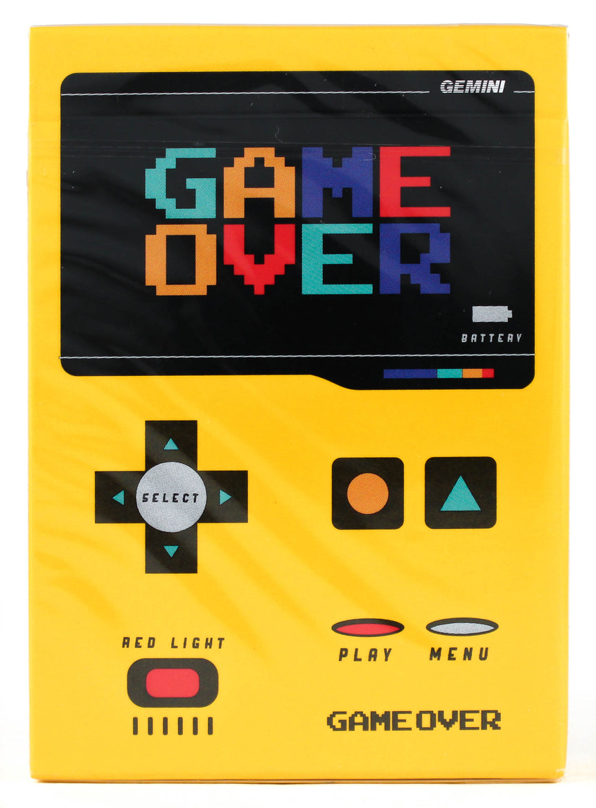 Game Over - BAM Playing Cards (6238580736149)