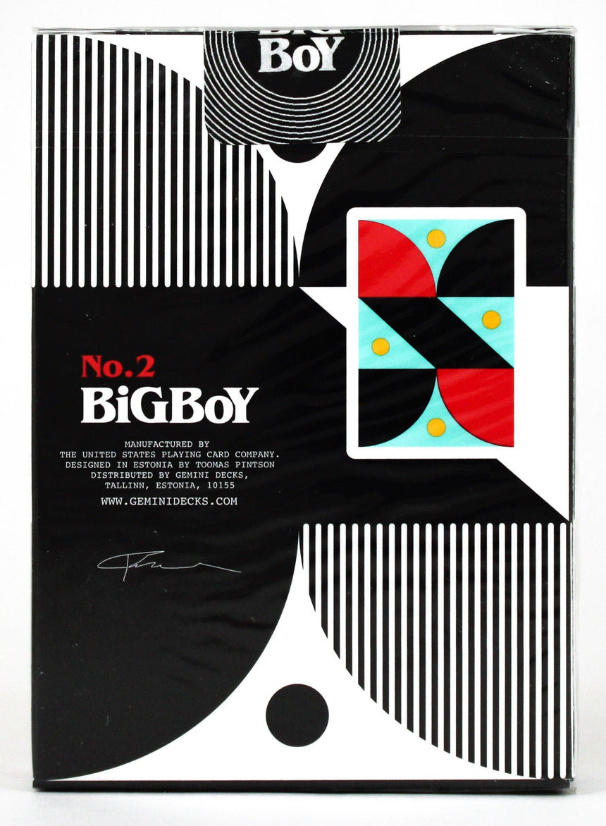 Big Boy No. 2 - BAM Playing Cards