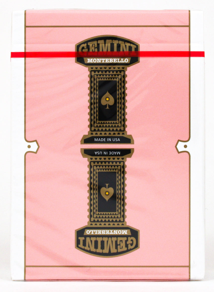 Gemini Casino Pink - BAM Playing Cards