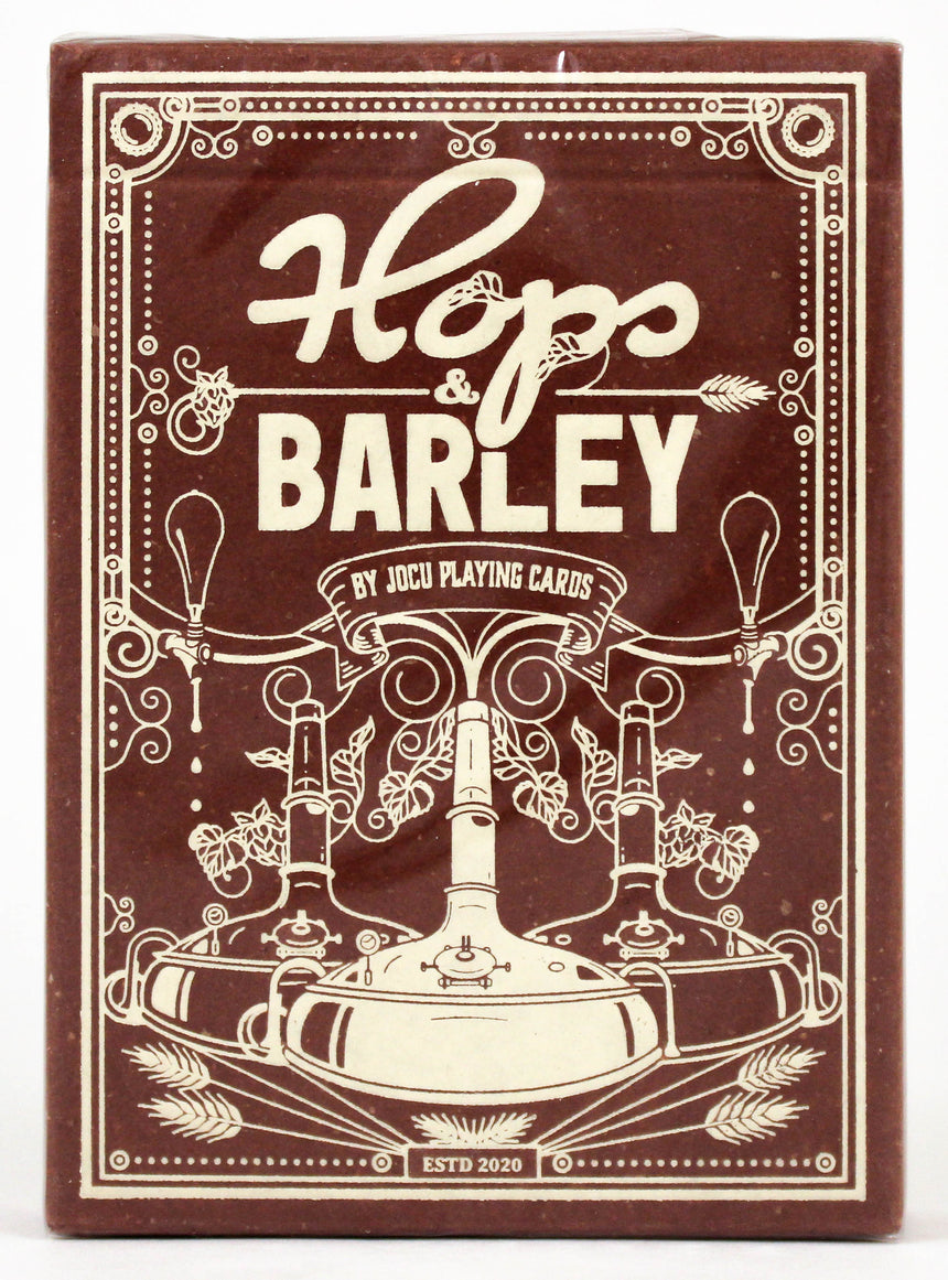 Hops & Barley Deep Amber Ale - BAM Playing Cards