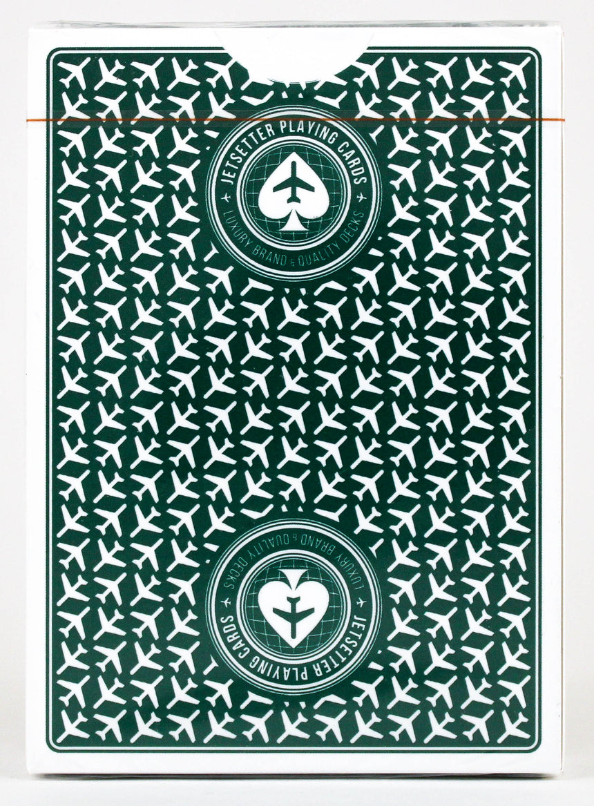 Premier Edition Green - Jetsetter - BAM Playing Cards