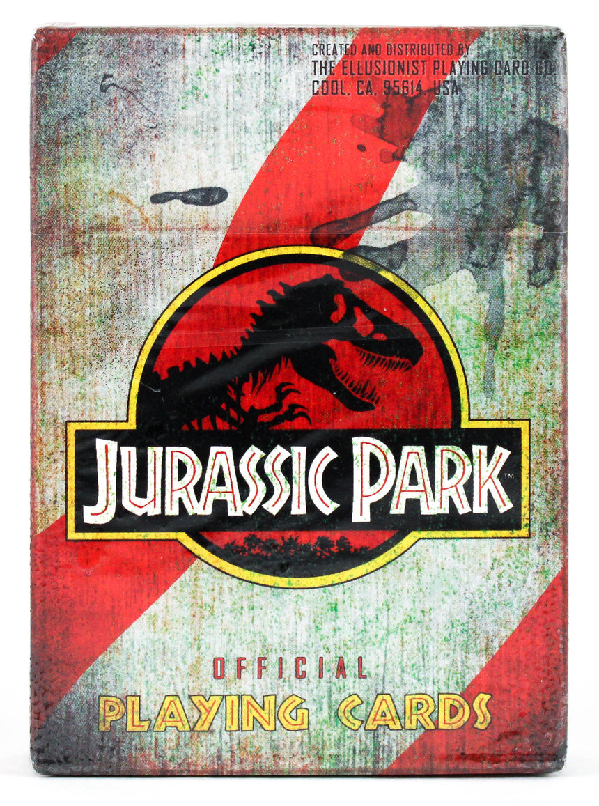 Jurassic Park - BAM Playing Cards (6307268165781)