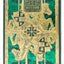 King Arthur Green - BAM Playing Cards (6238611112085)