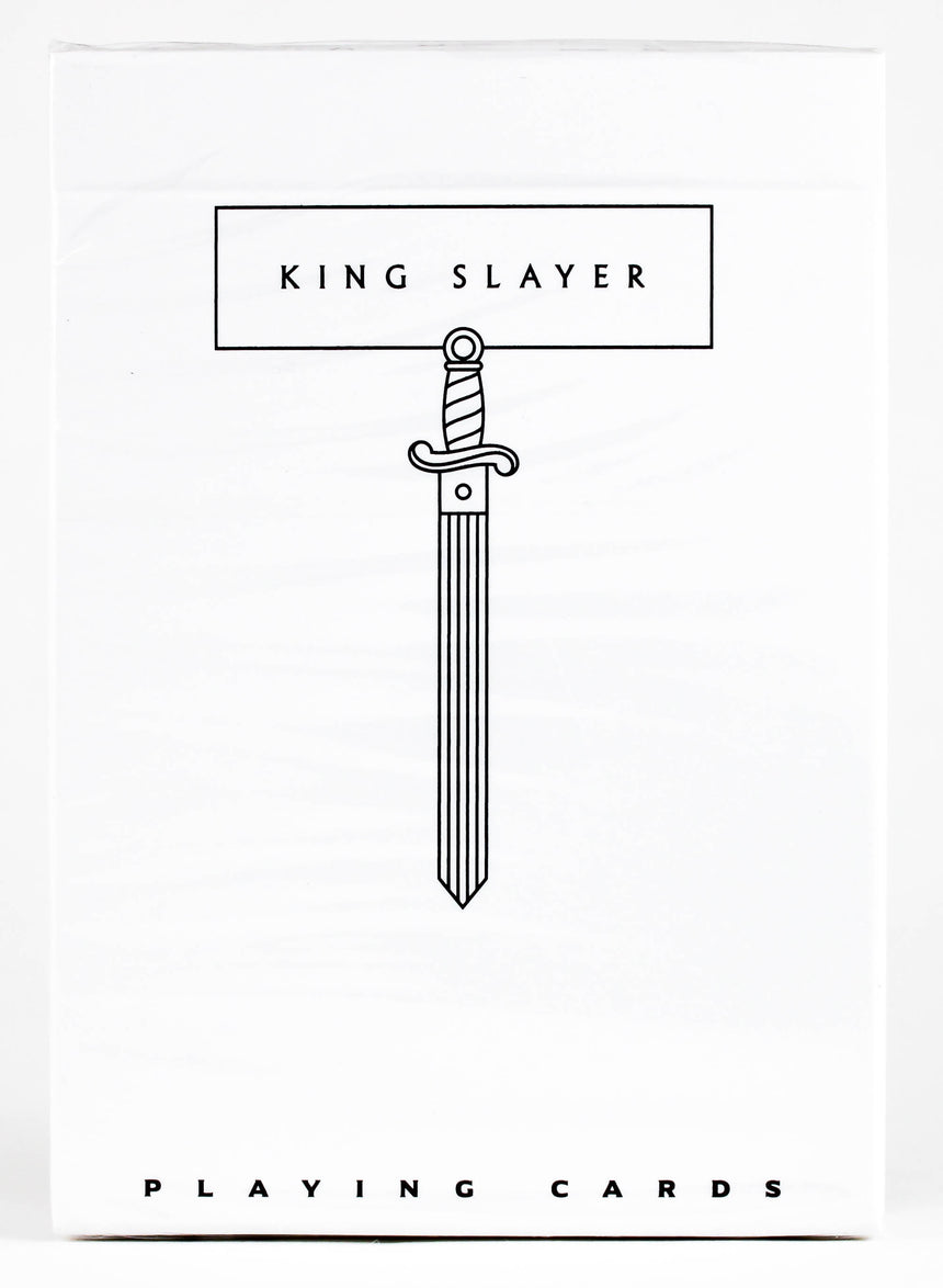 King Slayer Ghost White - BAM Playing Cards
