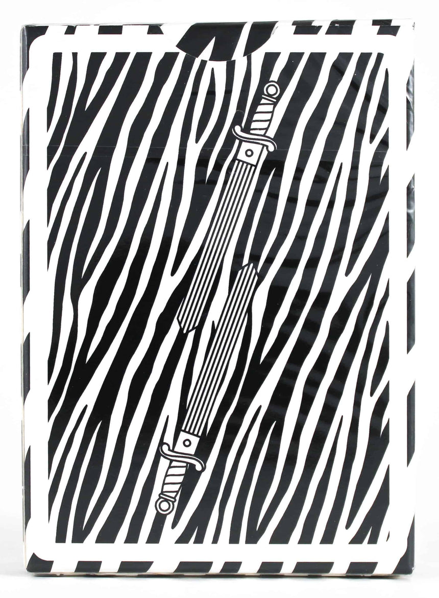 King Slayer - Zebra - BAM Playing Cards