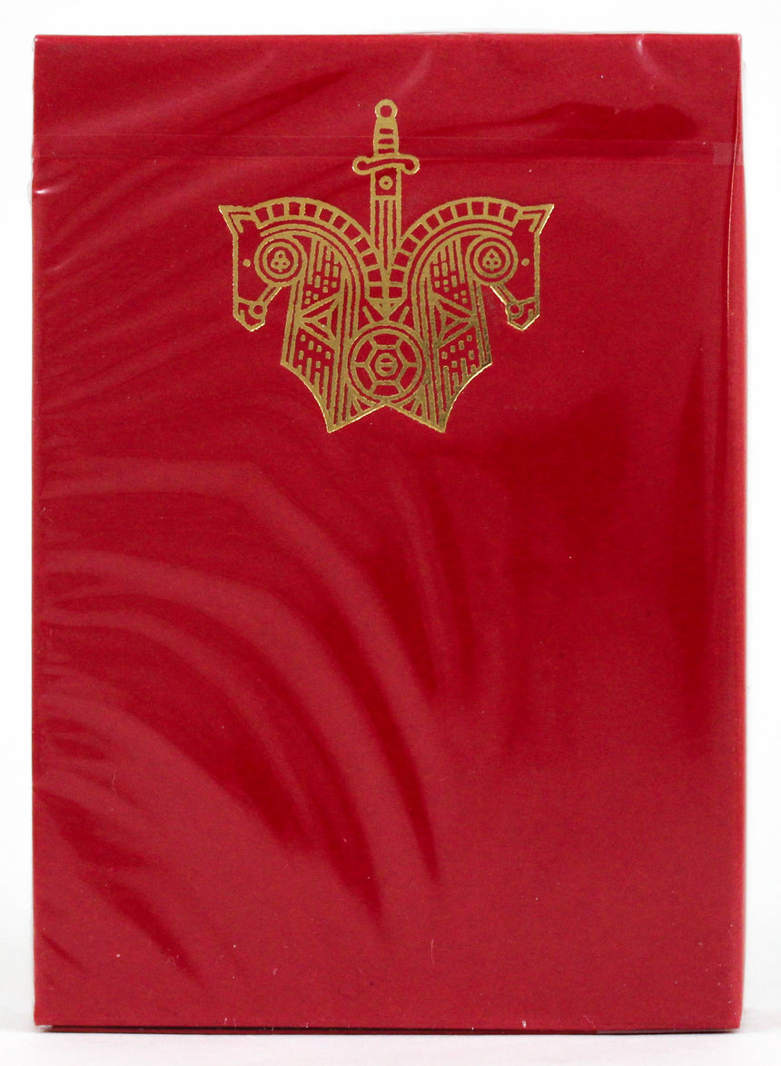 Red Knights - BAM Playing Cards (6229279670421)