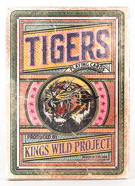 Kings Wild Tigers - BAM Playing Cards