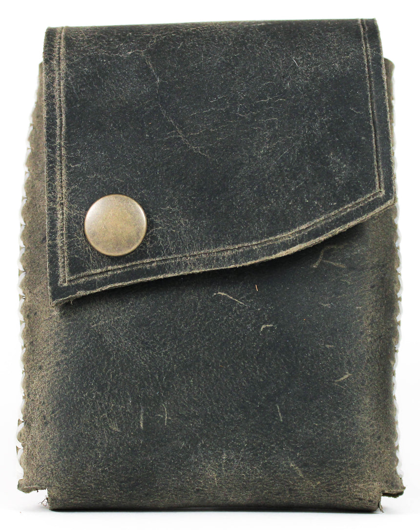 Foxheart Leather Deck Sleeve Sage - BAM Playing Cards