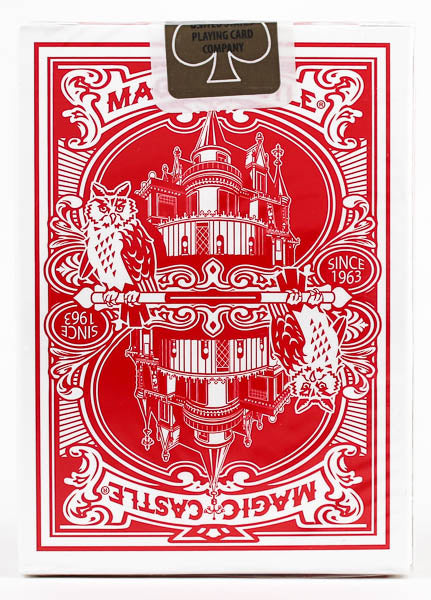 Magic Castle Red - BAM Playing Cards