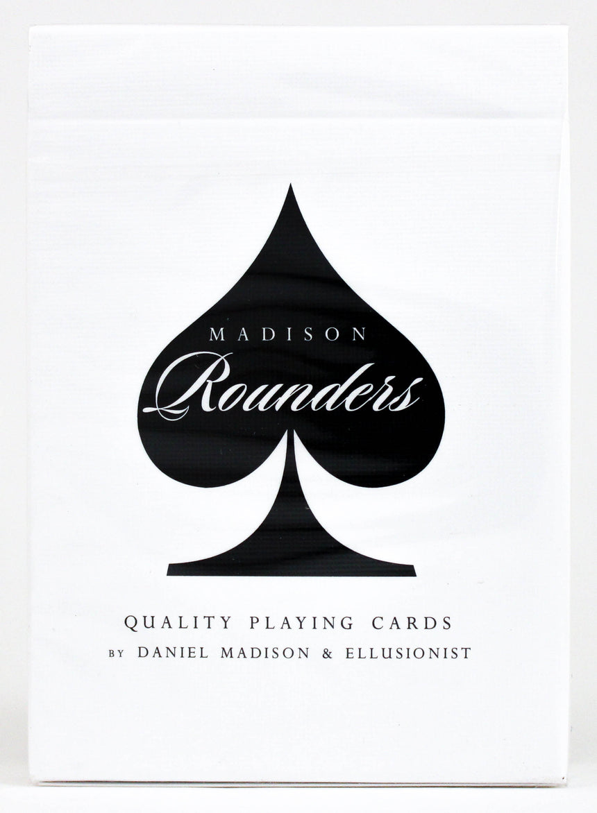 Rounders Black - BAM Playing Cards (6232417992853)