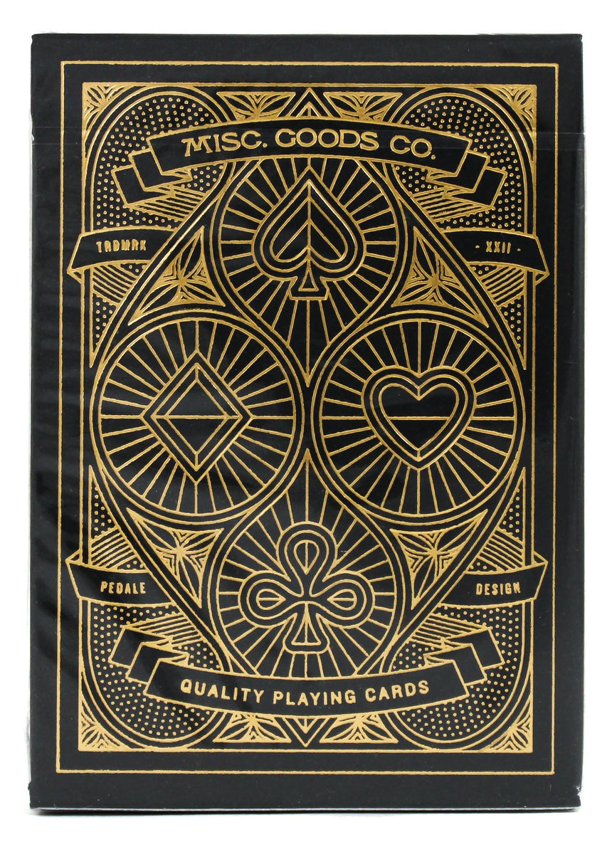 MGCO Black - BAM Playing Cards