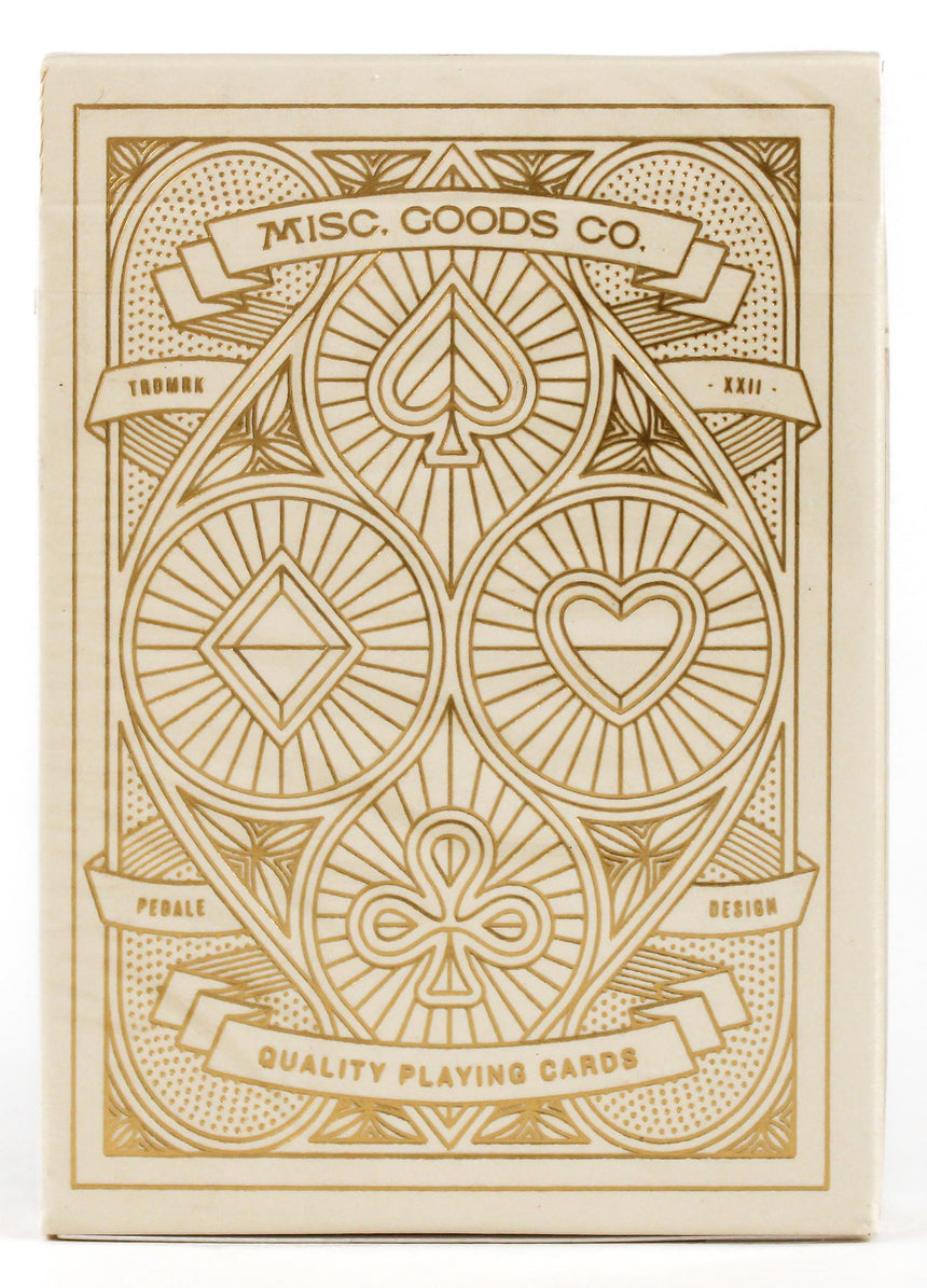 MGCO Ivory - BAM Playing Cards (6365193109653)