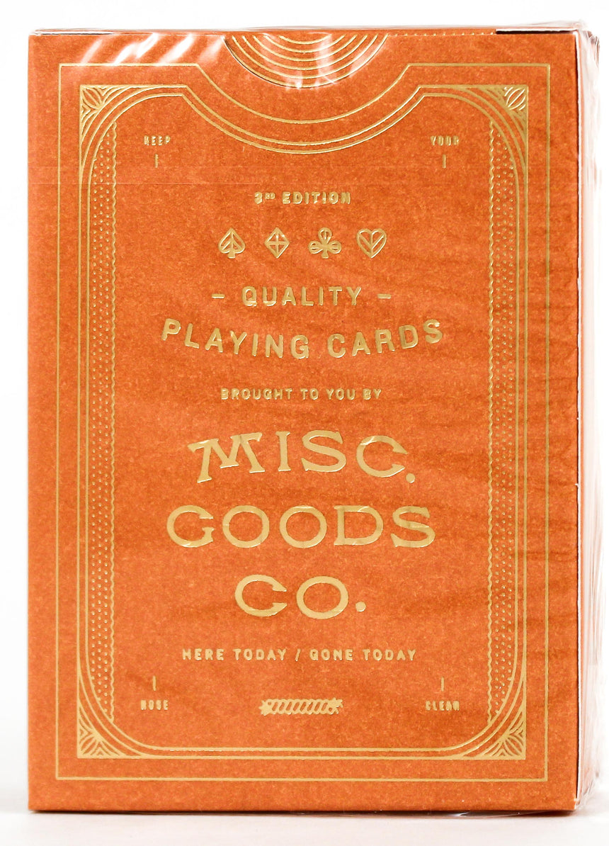 MGCO Sandstone - BAM Playing Cards