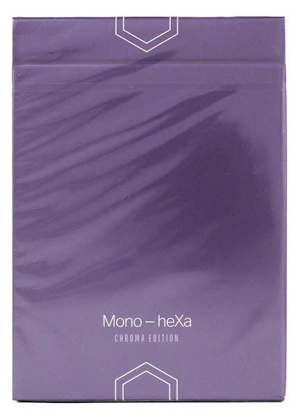 Mono-heXa Chroma Numbered Seal - BAM Playing Cards (6444828459157)