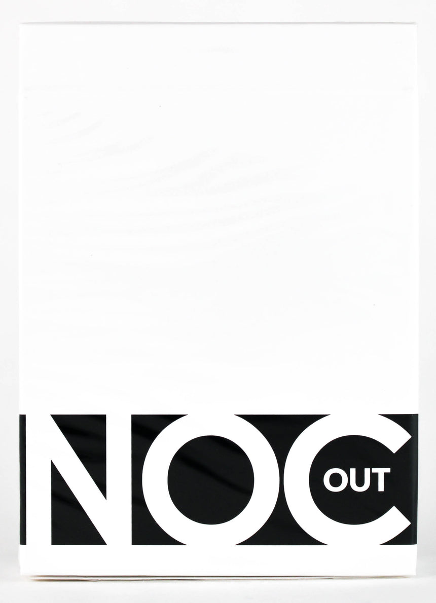 NOC Out White - BAM Playing Cards (6365185769621)