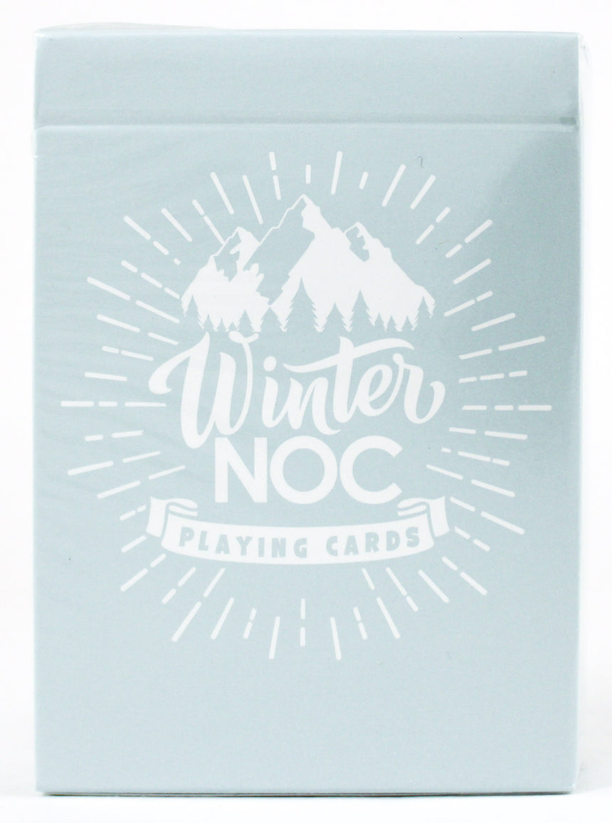 NOC Winter Blue - BAM Playing Cards (5894696894613)