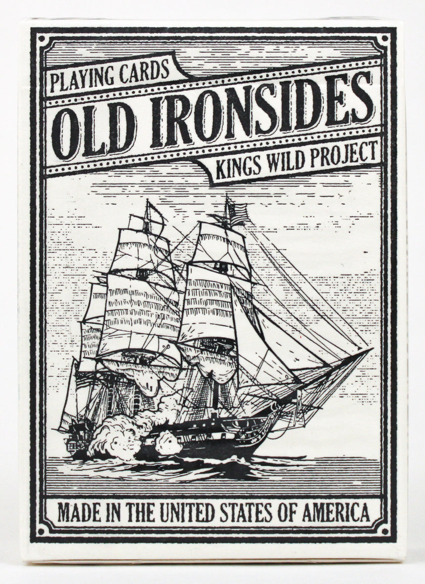 Old Ironsides - BAM Playing Cards (5953591574677)