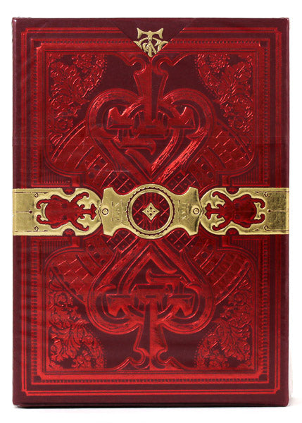 The Parlour Red - BAM Playing Cards (6467205070997)