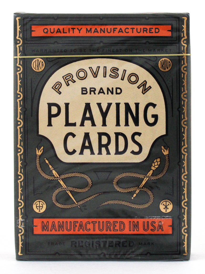 Provision - BAM Playing Cards