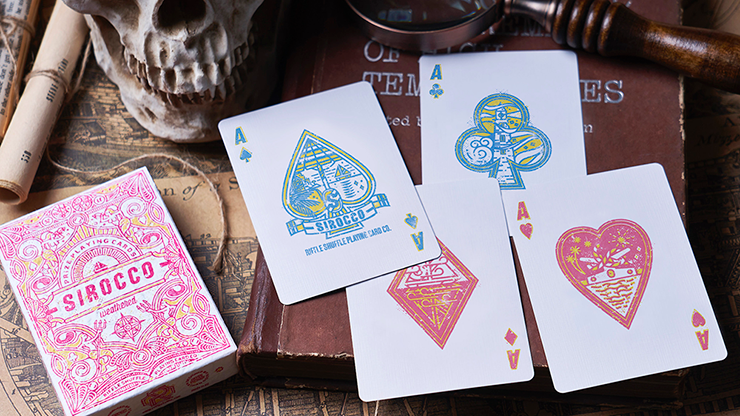 Sirocco Weathered - BAM Playing Cards