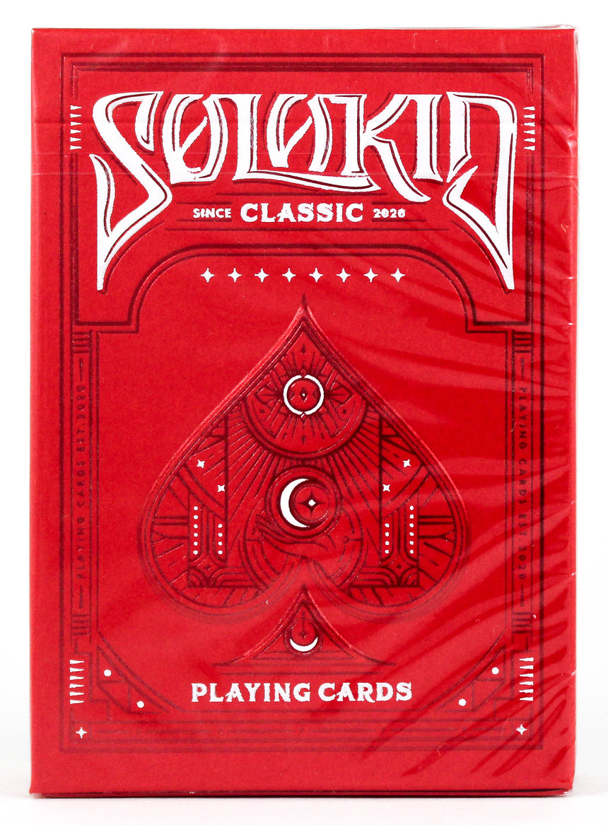 Solokid Ruby - BAM Playing Cards