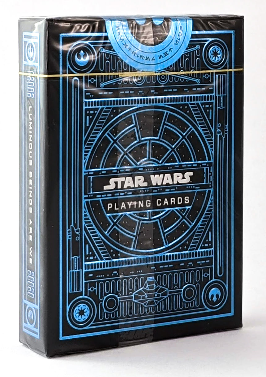 Star Wars - Blue (Light Side) - BAM Playing Cards