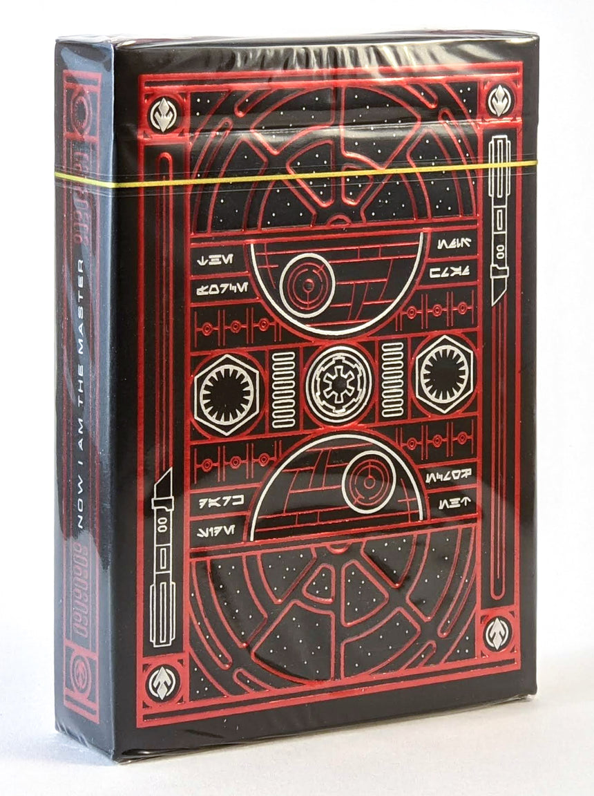 Star Wars - Red (Dark Side) - BAM Playing Cards