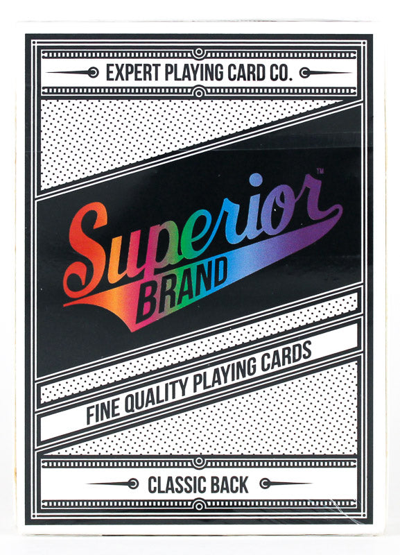 Superior Rainbow - BAM Playing Cards (6386415108245)