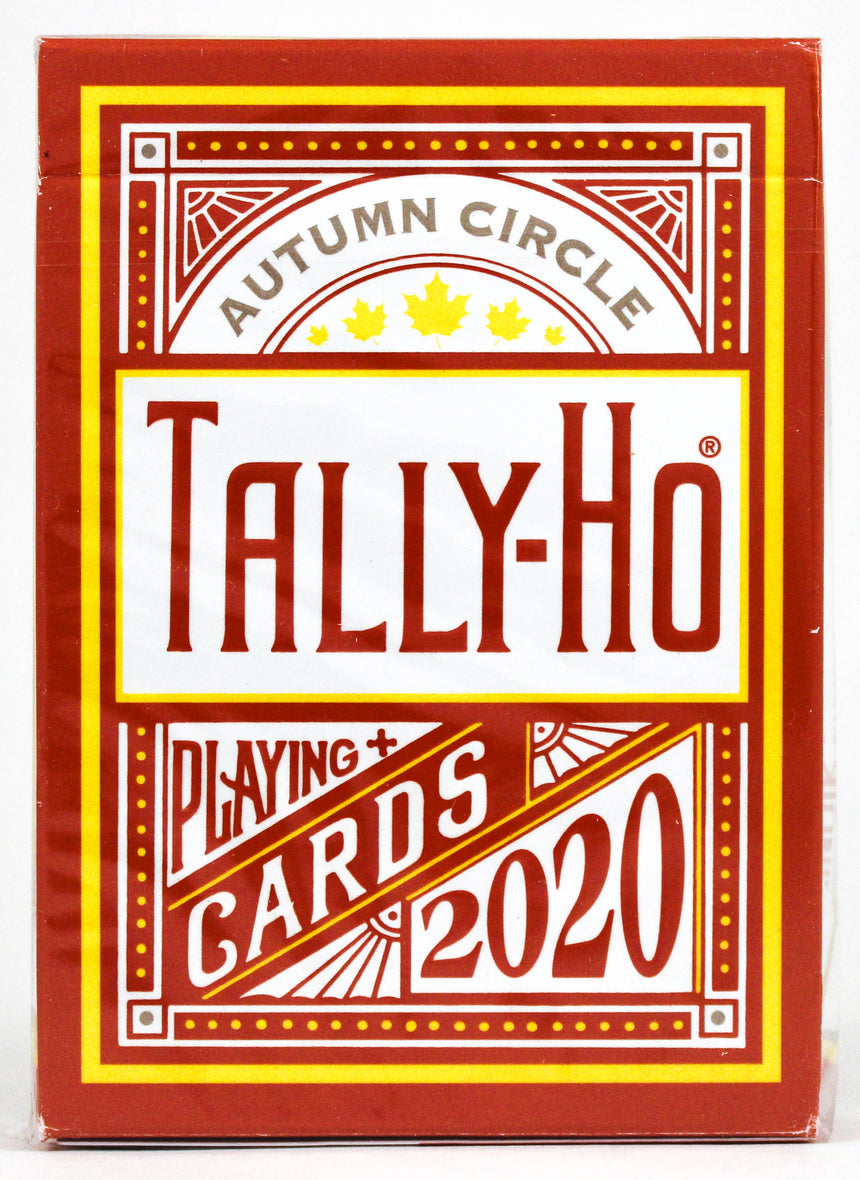 Tally Ho Autumn Circle Back - BAM Playing Cards (6151530184853)