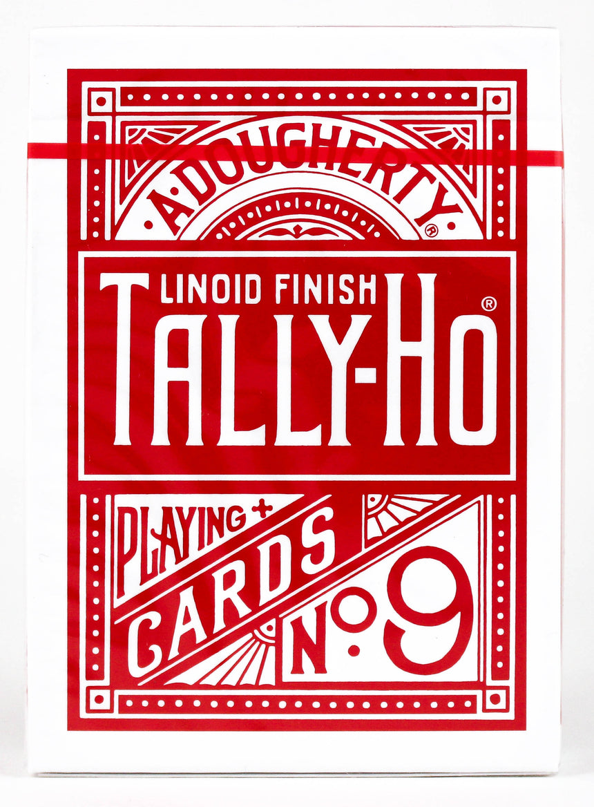Tally Ho Fan Back Red - BAM Playing Cards