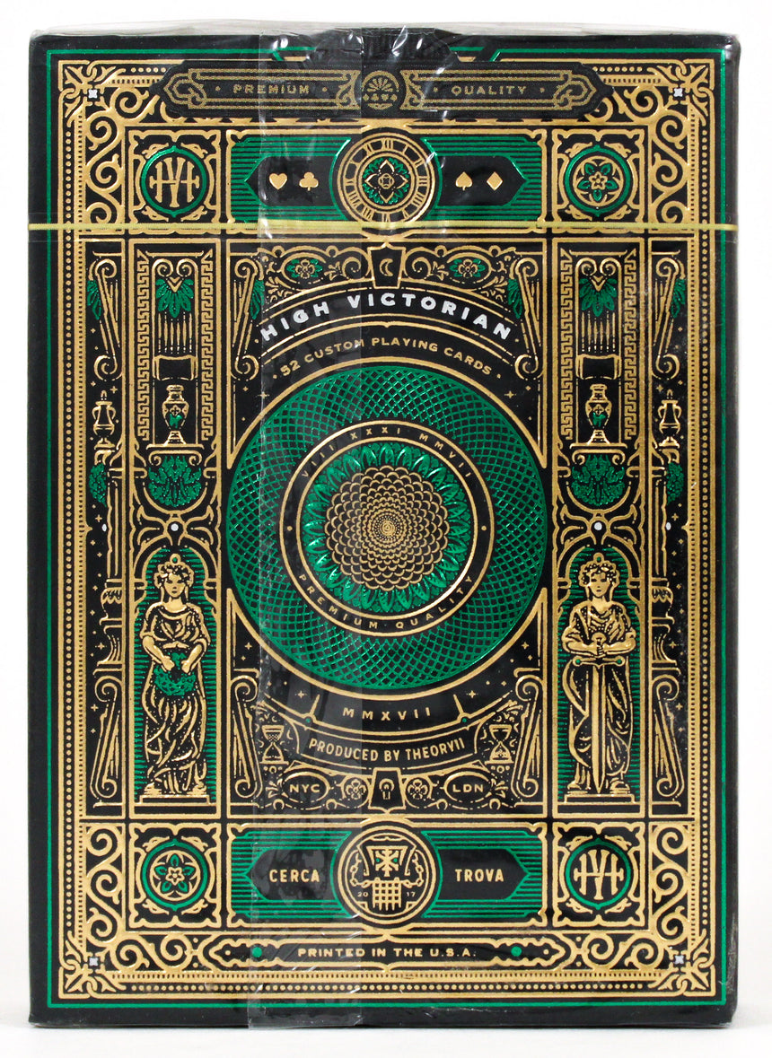 Green High Victorian - BAM Playing Cards