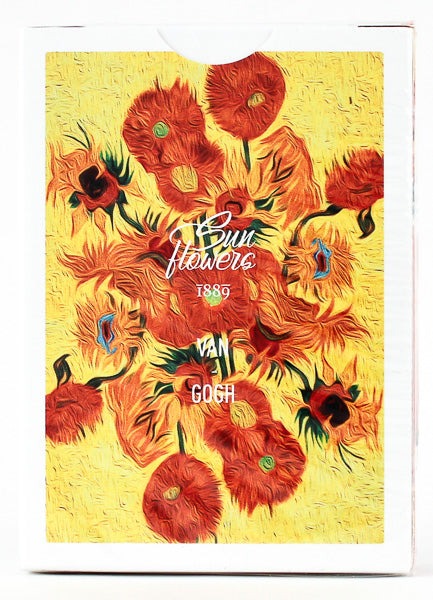 Van Gogh (Sunflowers Edition) Playing Cards (6515692601493)