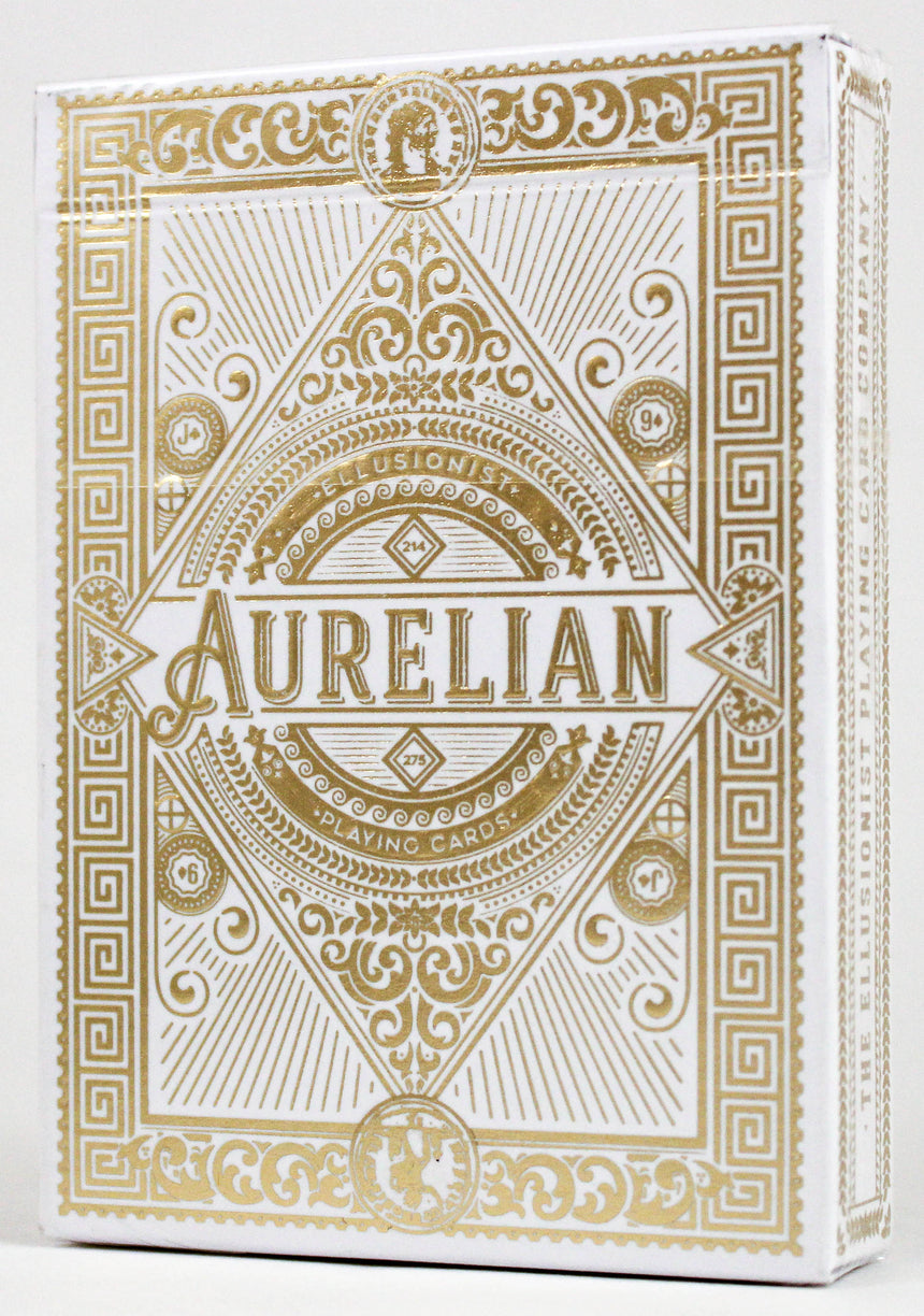White Aurelian - BAM Playing Cards (6232432803989)